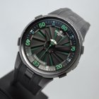 Περελέ  (Perrelet) Turbine 50mm Green Black DLC with LC EU Papers