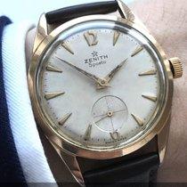Zenith Rosevergoldete Vintage Zenith Sporto Chronometer 40-T