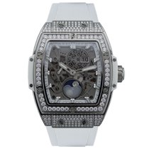 Hublot Spirit of Big Bang Titanium White Pave 42 mm