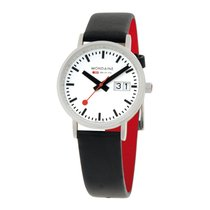Mondaine LADY Quartz 33mm Classic Date Watch A669.30008.16SBO