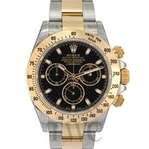 ロレックス (Rolex) Daytona Black/18k gold Ø40mm - 116523
