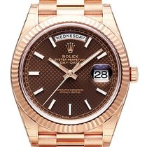 Rolex Day-Date 40 18 kt Everose-Gold 228235 Choco