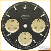 Rolex Dial Cosmograph Small Daytona Black Dial 6240 Stock #35-CSD