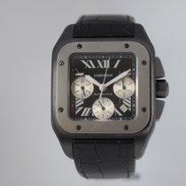 Cartier 100XL SANTOS W2020005 CHRONO PVD TITANIUM