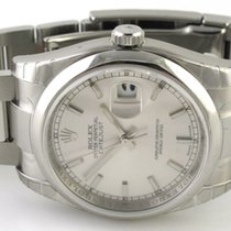 Rolex - Datejust : 116200 silver dial on Heavy Oyster bracelet...