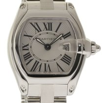Cartier Roadster W62016V3 Ladies Stainless Steel Silver Box/P...