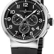 Ulysse Nardin Marine Chronograph Stainless Steel and Titanium...