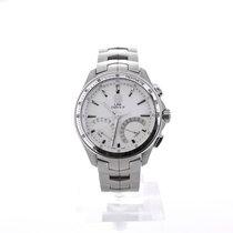 豪雅 (TAG Heuer) Link Quartz Chronograph Stainless Steel Silver...