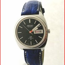 Seiko LM Lord Matic 5606-7140 Automatic Day/Date Black Dial...