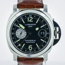 Panerai Luminor GMT, Stainless Steel, PAM00088, Automatic,...