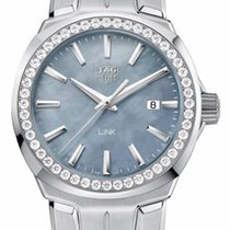 TAG Heuer Link Lady Diamonds Nacre Dial WBC1315BA0600