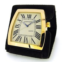 Cartier La Dona Gold Capped Travel Alarm Clock 2985, w Box...