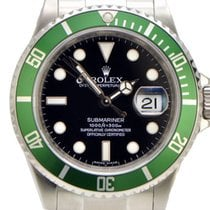 Rolex Submariner 50th Anniversary Ed Green Bezel and Black