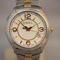 Ebel Classic Sport Stahl/18K Gelbgold Herrenuhr Quarz 40mm NEU