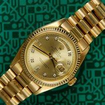 Ρολεξ (Rolex) Day-Date 1803 plexi diamond dial President 1973