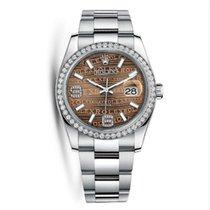 Rolex 116244 Datejust Stainless Steel & 18K White Gold Watch