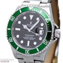 Rolex Submariner Date Ref-16610LV Mark V Stainless Steel Box...