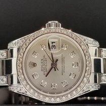 Rolex Lady Datejust 26mm Ref. 179160 Custom New Style Diamond...