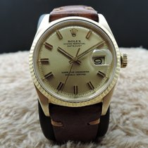 Rolex DATEJUST 1601 18K YG with Original Gold WIDE BOY Dial