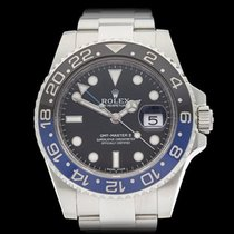 Rolex GMT-Master II Batman Stainless Steel Gents 116710BLNR -...