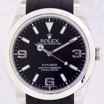 Rolex Explorer I 39mm Rubber B Band Top 214270 Klassiker