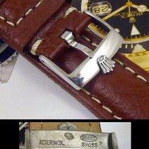 Rolex SUBMARINER GMT Explorer Style 20mm stitched SUISSE QUA