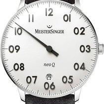 Meistersinger NeoQ NQ901N Einzeigeruhr Mit Wechselband