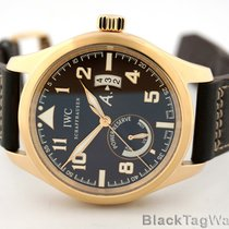IWC Pilots Power Reserve Antoine de Saint Exupery Rose Gold