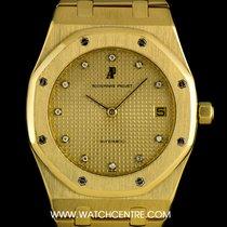 Audemars Piguet 18k Yellow Gold Rare Diamond Dial Royal Oak...