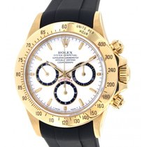 Rolex Daytona 16528 Yellow Gold, Rubber, 40mm