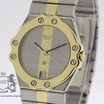 Chopard St. Moritz Unisex Steel Gold Ref. 8073 Fully SERVICED...