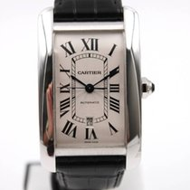 Cartier Tank Américaine XL White Gold New