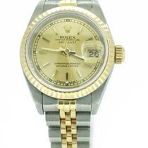 Rolex Lady-Datejust Two Tone 18K/S.S 69713