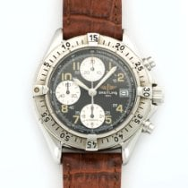 Breitling Colt Stainless Steel Chronograph Strap Watch