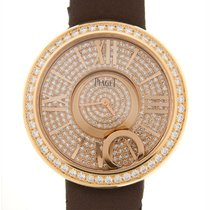 Piaget Limelight 18 K Rose Gold With Diamonds Gold Quartz...