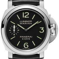 Panerai PAM 510 Luminor Marina 8 Days Acciaio 44mm Stainless...
