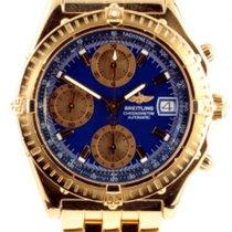 Breitling Chronomat Full 18k Gold Automatic Chronograph K13352