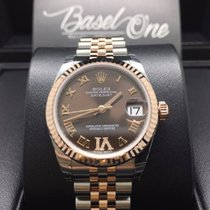Rolex 178271 vi Choco dial Lady-Datejust 31mm