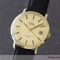 Omega 14k (0,585) Gold Herrenuhr Automatik Vintage 1971 Klassiker