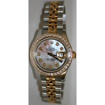 Rolex Datejust 179173 Lady's Steel & 18K Yellow Gold...