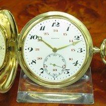 제니트 (Zenith) 18kt 750 Gold Savonette Sprungdeckel Taschenuhr