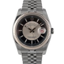 Rolex Datejust Steel with Black/Silver Dial, Ref: 116234