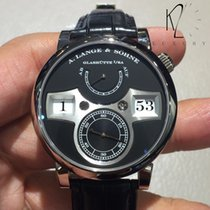 A. Lange & Söhne Zeitwerk Jumping Hours in White Gold