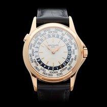 Patek Philippe Calatrava WorldTimer 18k Rose Gold Gents 5110R-001