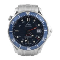 Omega Diver Seamaster 300 M Co-Axial GMT [Box & Papers]