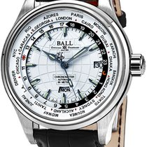 Ball Trainmaster Worldtime GM2020D-LCJ-WH