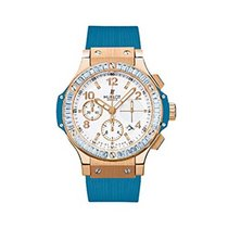 Hublot 341.PL.2010.RB.1907 41mm Big Bang Blue Carat - Baguette...