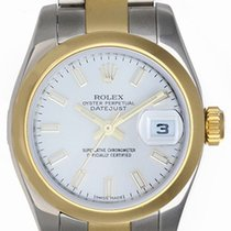 Rolex Ladies Datejust 2-Tone Stainless Steel & 18k Gold...