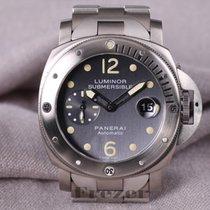 Panerai Luminor Submersible Collection Titanium & Steel...