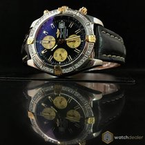 Breitling Chronomat Evolution Gold/Steel Diamonds